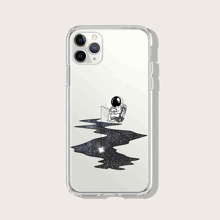 Astronaut Pattern iPhone Case