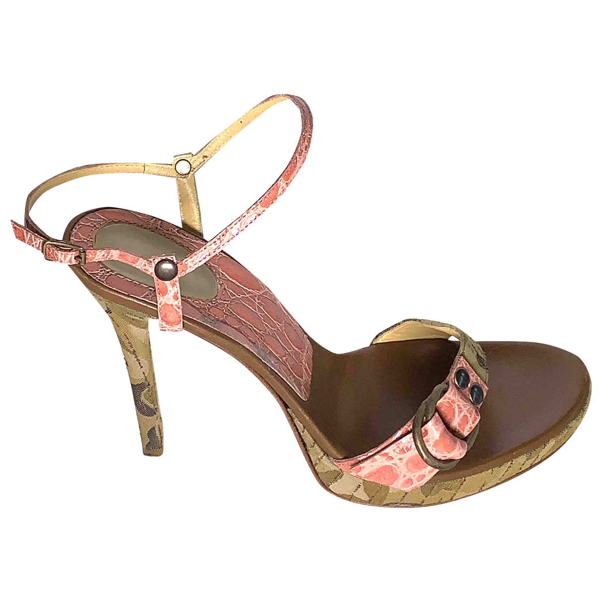 Sandalias de Cocodrilo Casadei