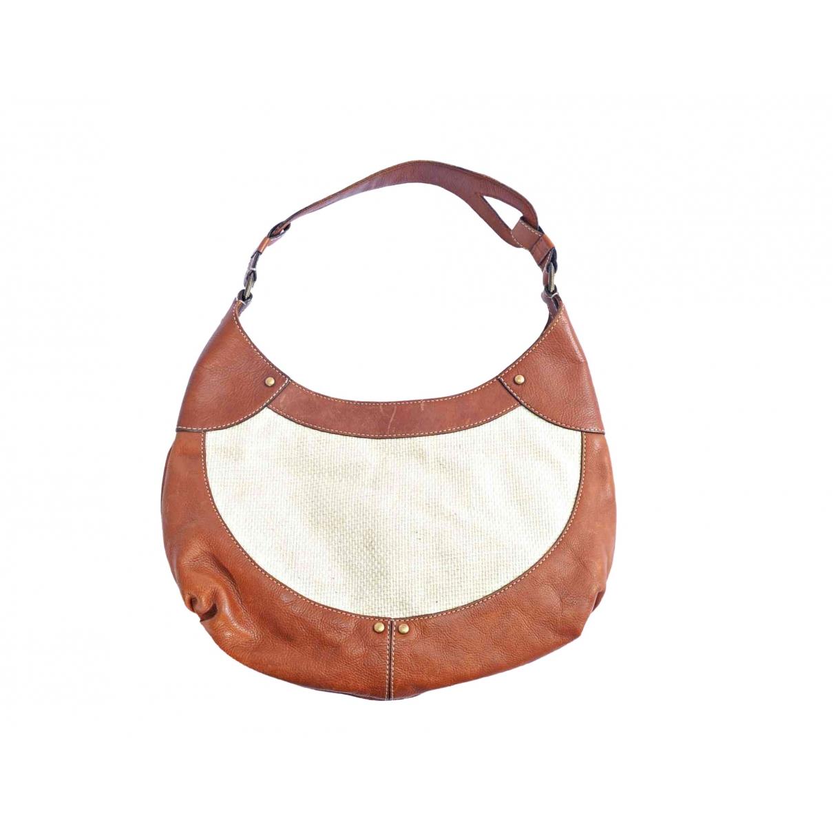 Cole Haan \N Handtasche in  Beige Leder