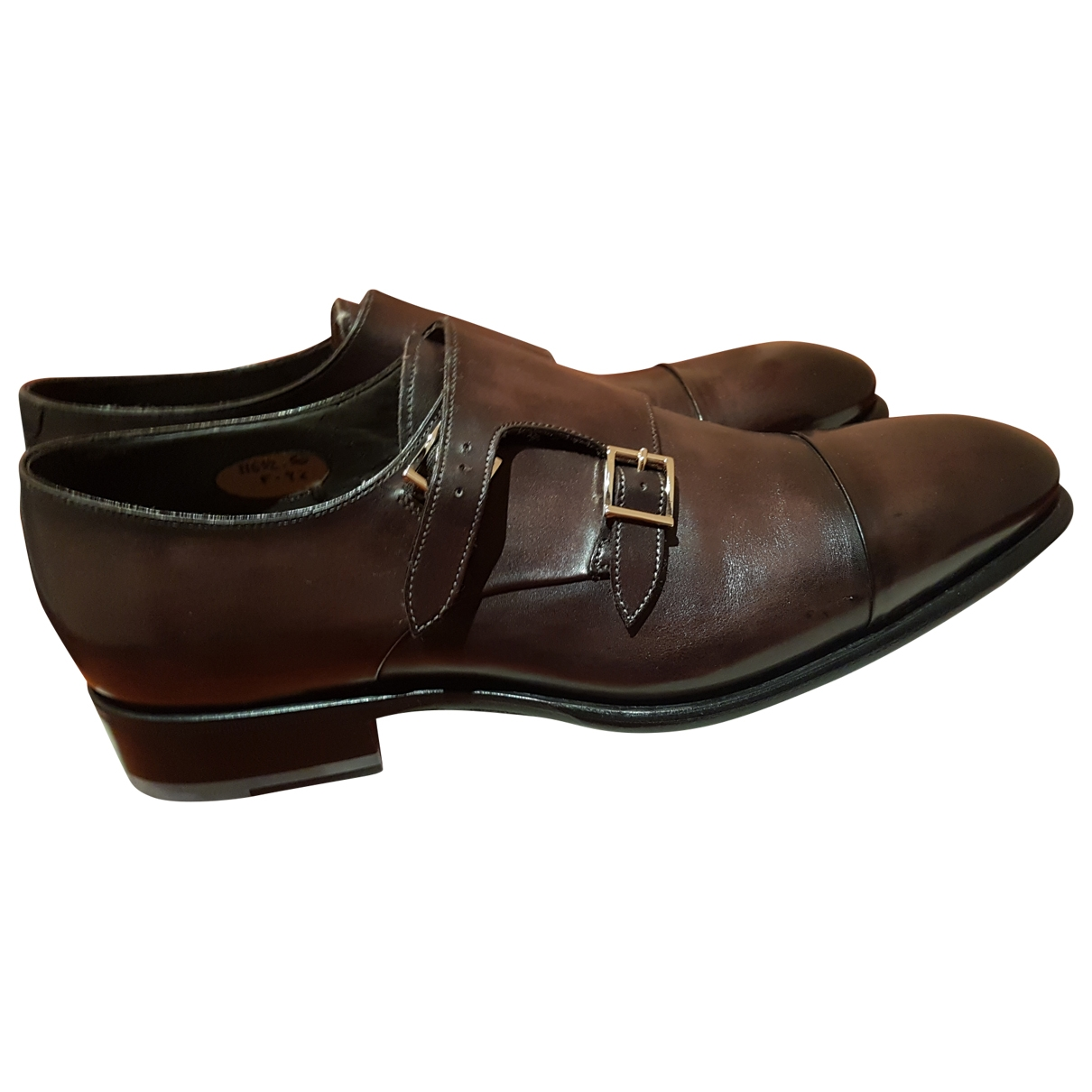 Santoni \N Brown Leather Lace ups for Men 9.5 UK