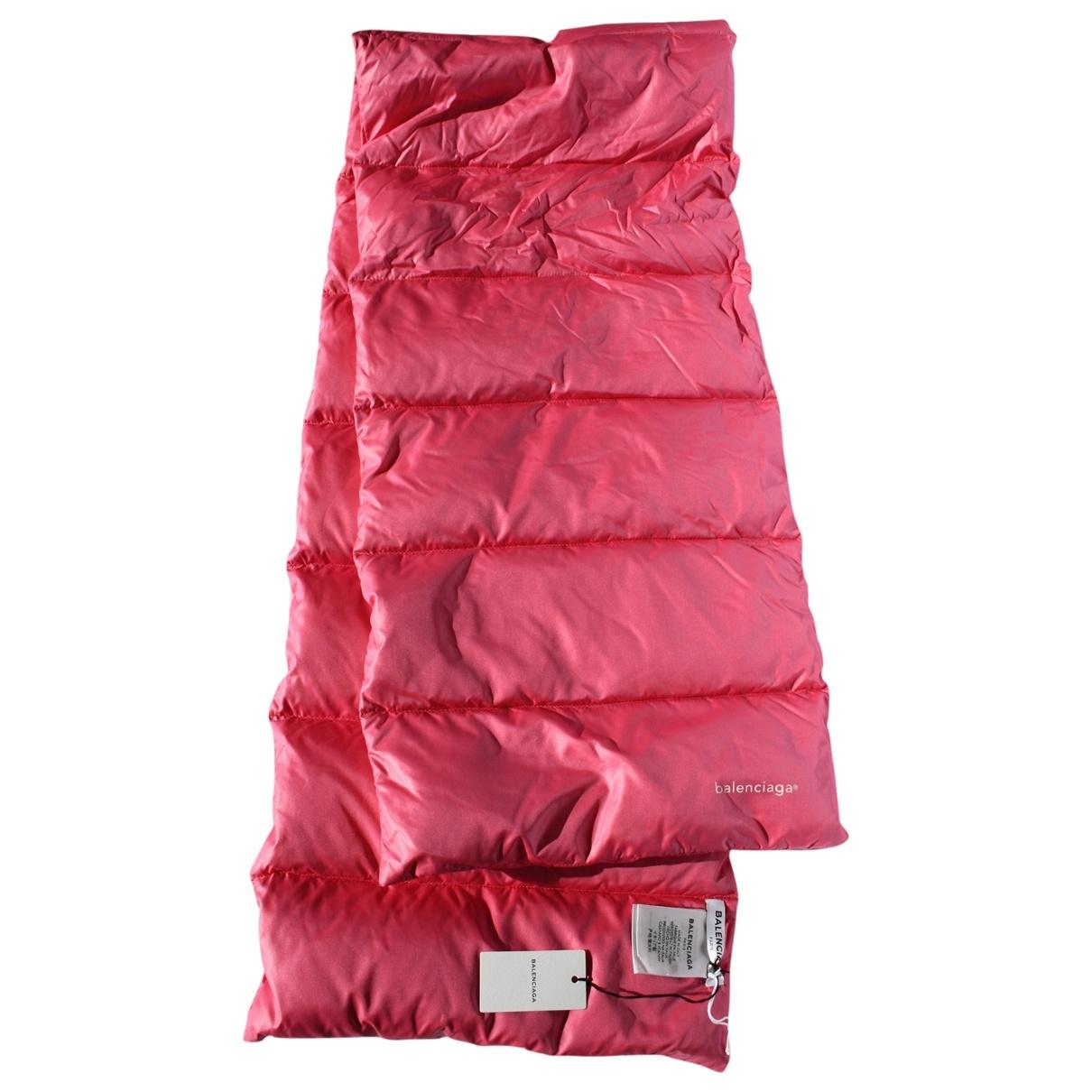 Balenciaga \N Schal in  Rosa Polyester