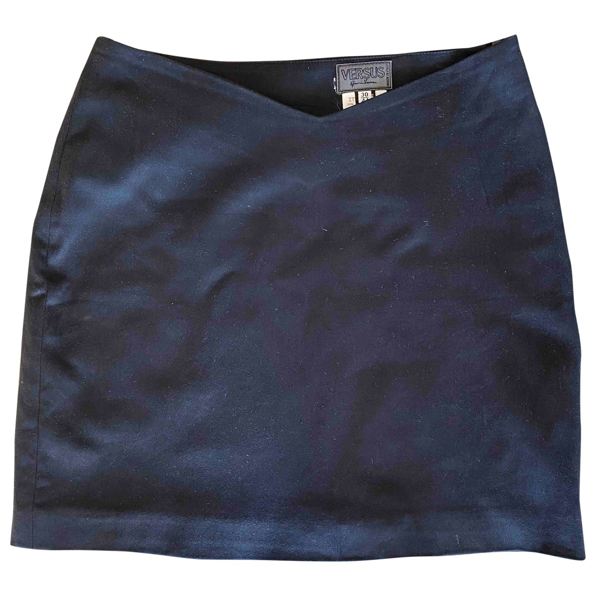 Versus \N Black Cotton skirt for Women 44 IT