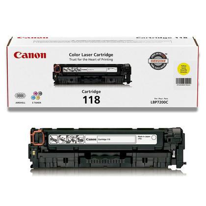 Canon 118 2659B001AA cartouche de toner original jaune