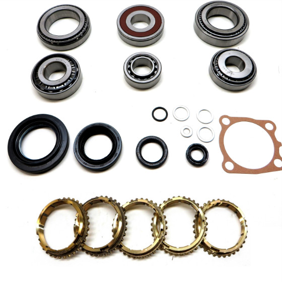 E351 Transmission Bearing/Seal Kit w/Synchro Rings 5-Speed Manual Trans USA Standard Gear ZMBK447WS