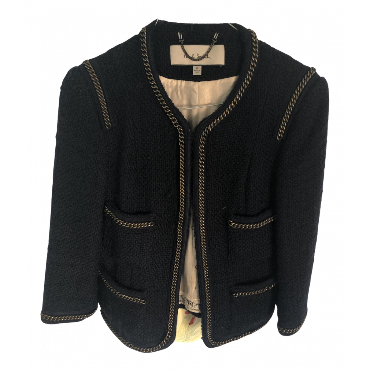 Chaqueta corta de Lana Paul Smith
