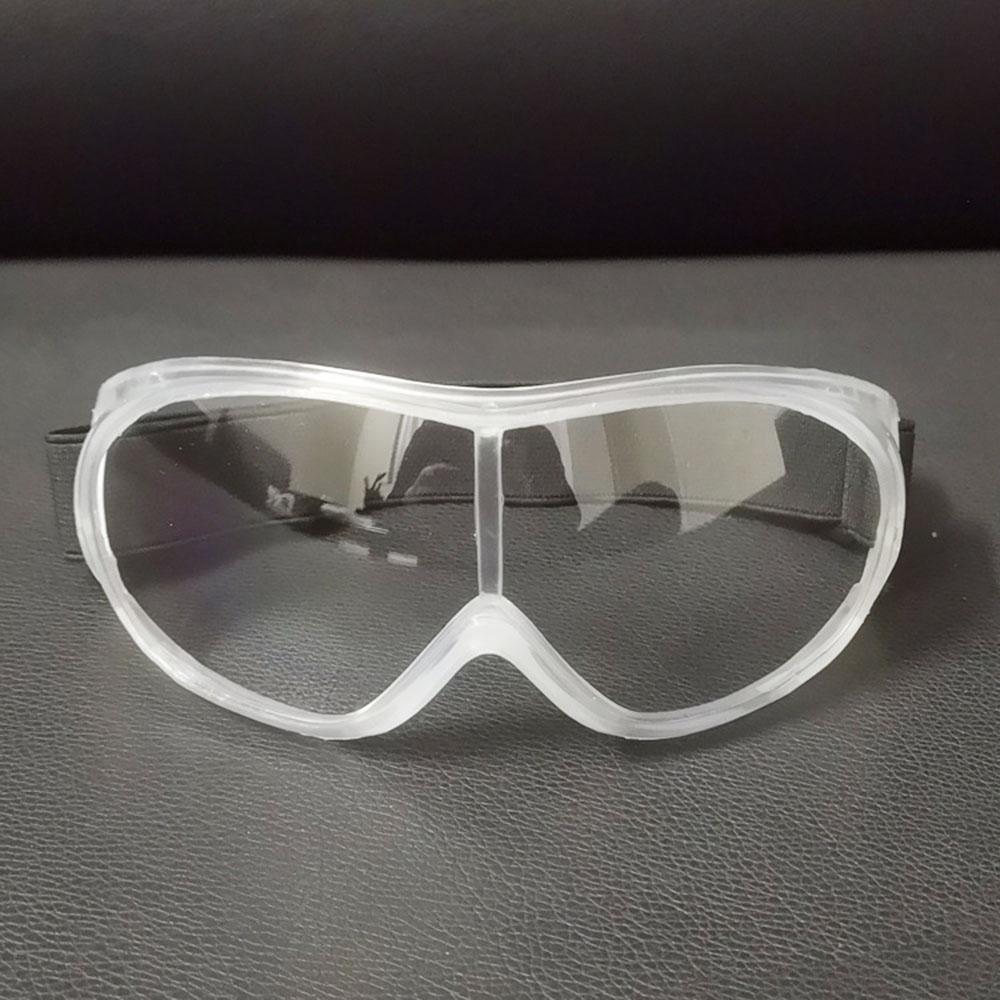 Safety Goggles Transparent Anti-fog Goggles Anti-spittle Anti-dust Anti-wind Transparent Protective Eyepiece