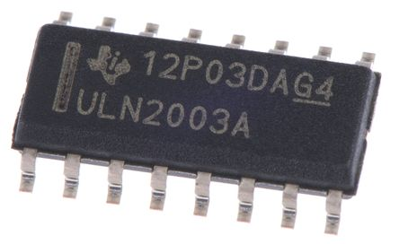 STMicroelectronics ST232ABDR, Line Transceiver, RS-232 2-TX 2-RX, Maximum of 5.5 V, 16-Pin SOIC (10)