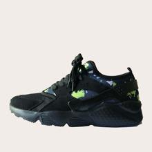 Zapatillas deportivas de hombres de color combinado
