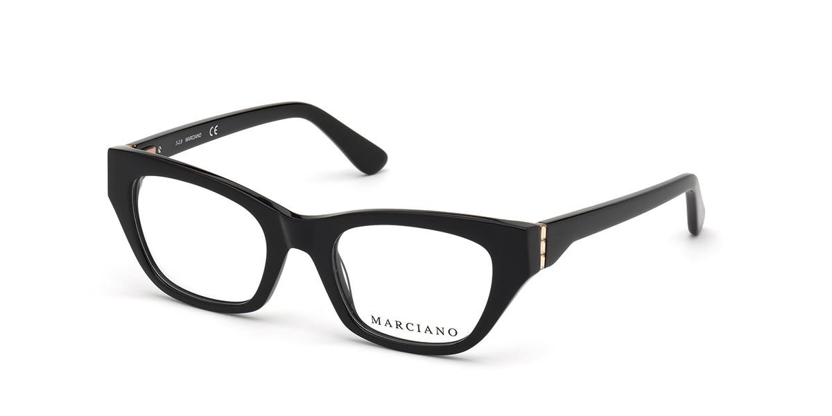 Guess GM 0361 001 Women's Glasses Black Size 52 - Free Lenses - HSA/FSA Insurance - Blue Light Block Available