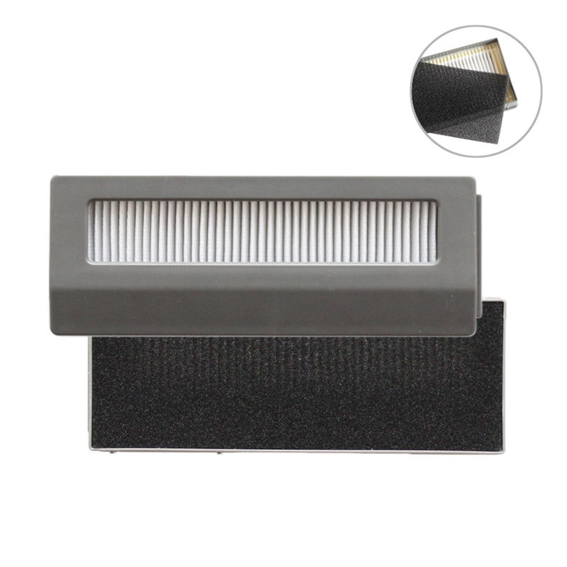 HEPA Filter Sponge Replacement Parts Filter Robotic Sweeper for Ecovacs DW700 Robot Vacuum Cleaner