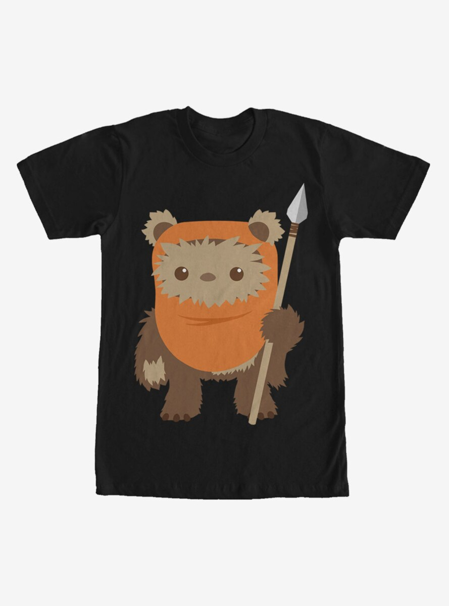 Star Wars Wicket Ewok Cartoon T-Shirt