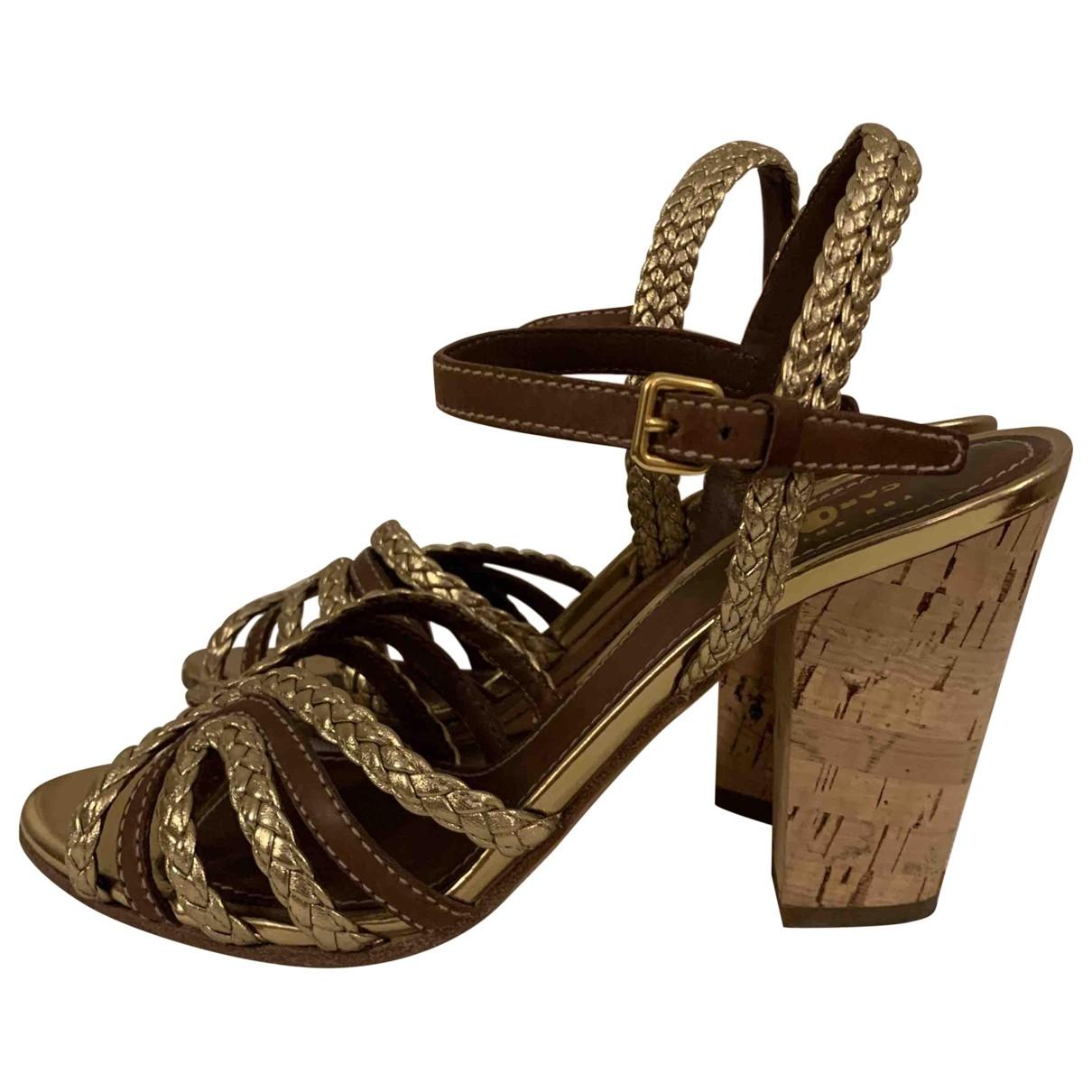 Carshoe - Escarpins   pour femme en cuir - multicolore