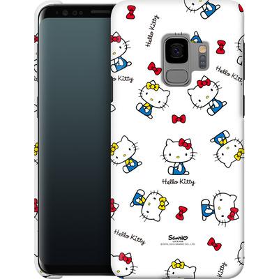 Samsung Galaxy S9 Smartphone Huelle - Hello Kitty and Mimmy Pattern von Hello Kitty
