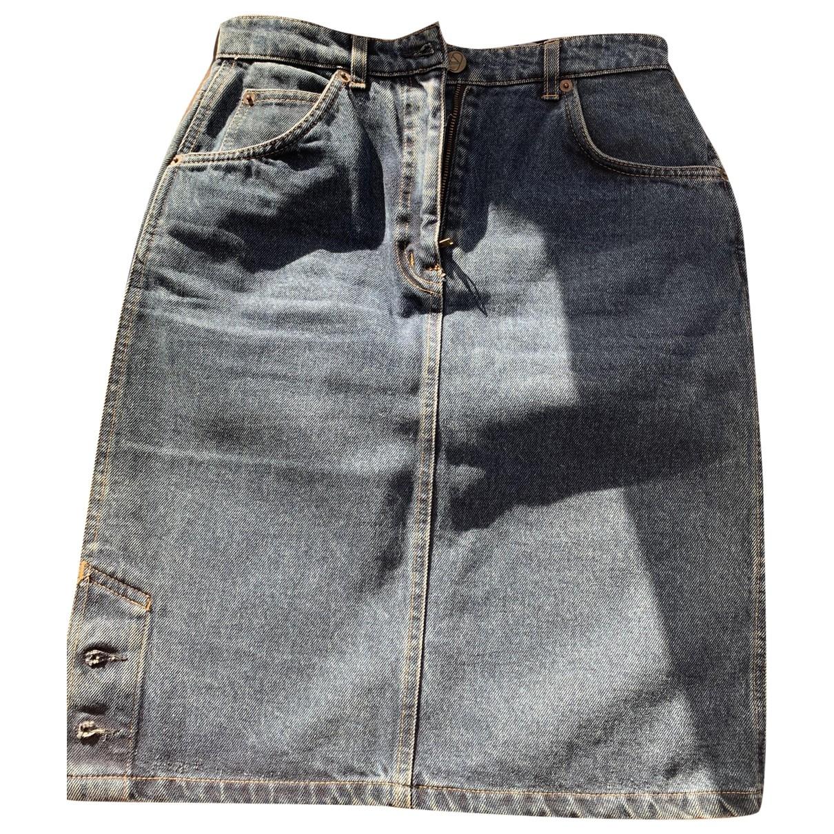 Valentino Garavani \N Denim - Jeans skirt for Women XS International
