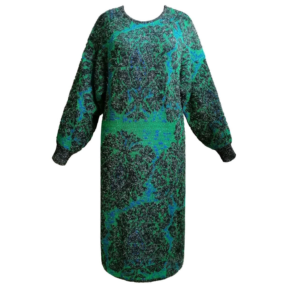 Non Signé / Unsigned \N Multicolour Wool dress for Women L International