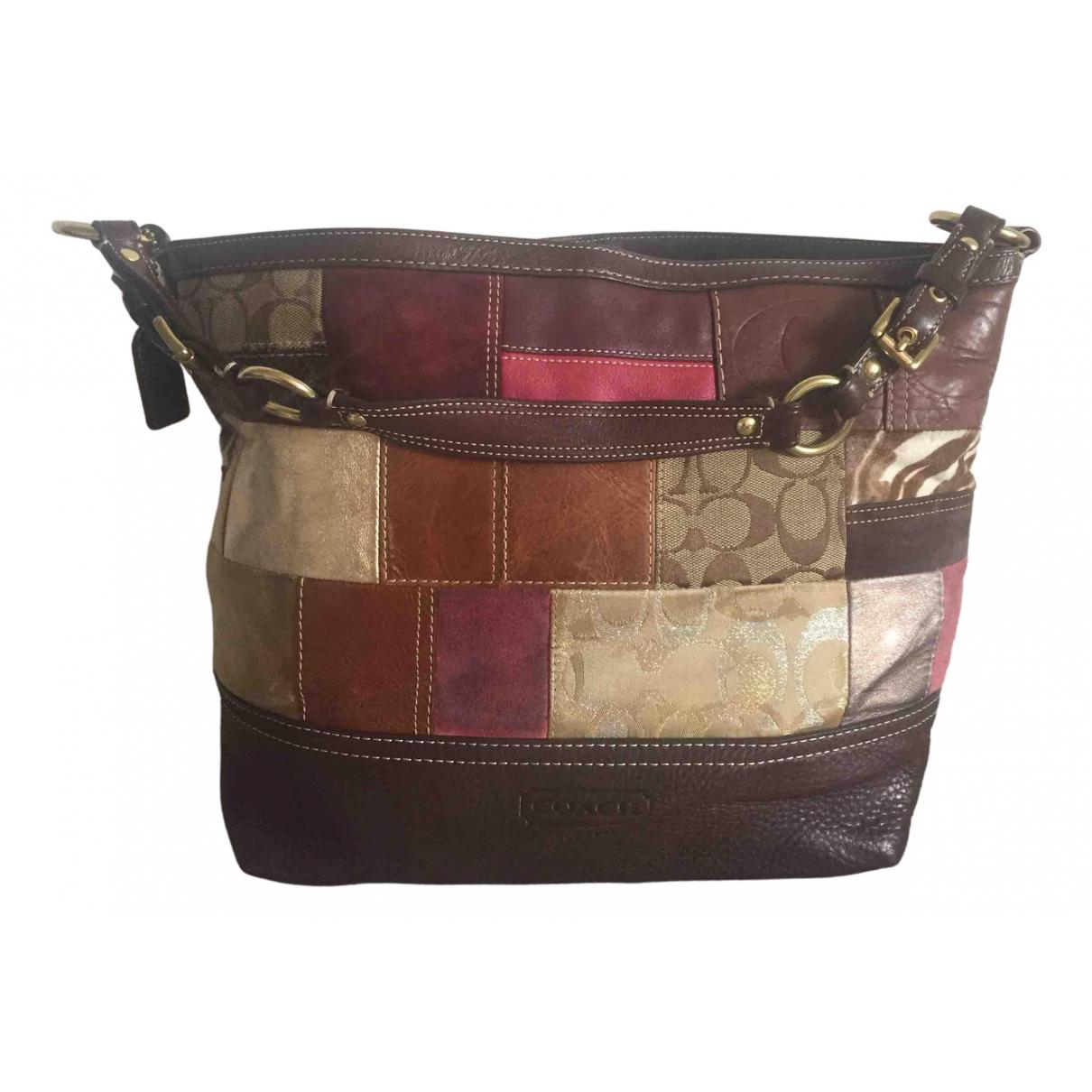 Coach \N Handtasche in  Bunt Leder