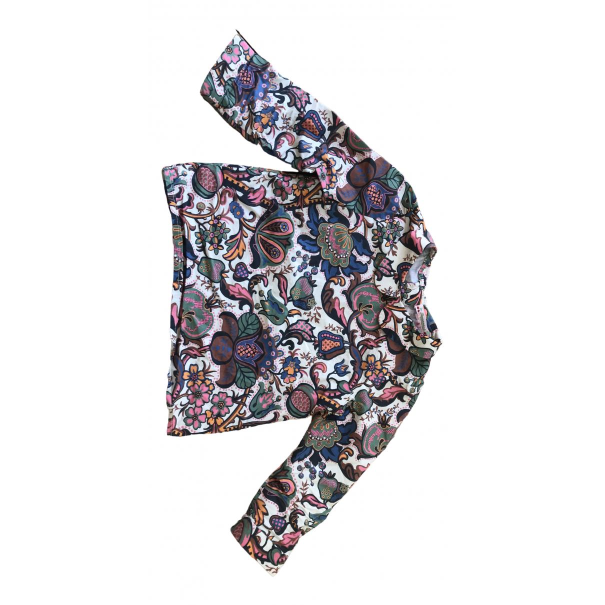 Bonpoint - Top   pour enfant en coton - multicolore