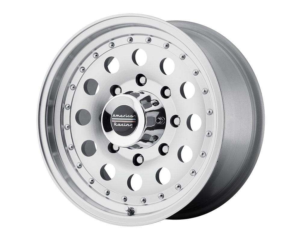 American Racing AR62 Outlaw II Wheel 14x7 5x5x101.6 +0mm Machined