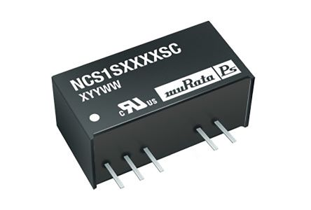 Murata Power Solutions NCS1 1W Isolated DC-DC Converter Through Hole, Voltage in 4.5 → 18 V dc, Voltage out 5V dc