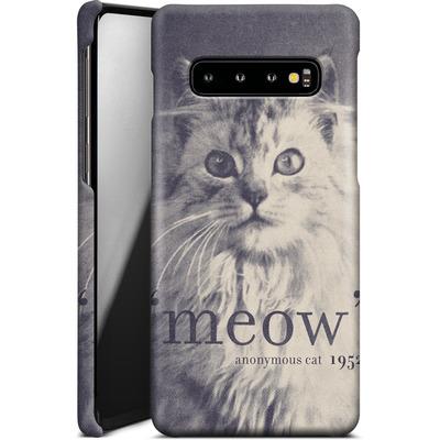 Samsung Galaxy S10 Smartphone Huelle - Famous Quote Cat von Florent Bodart