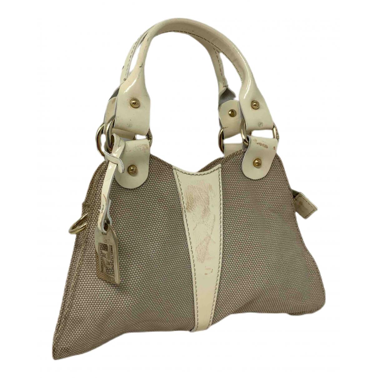 Fendi \N Handtasche in  Beige Leinen