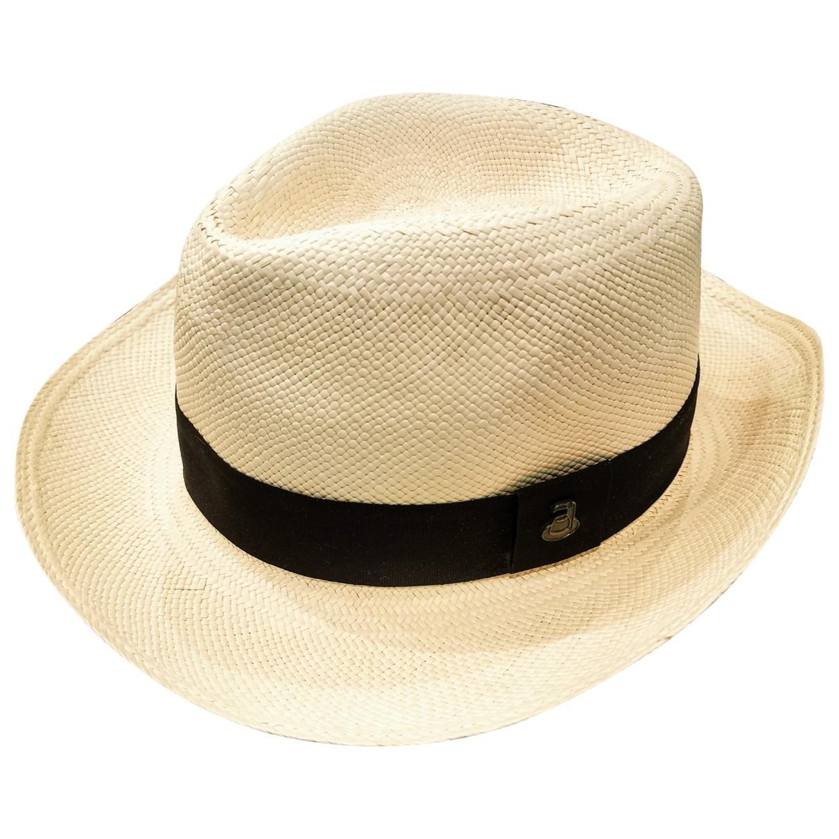 Original Panama By Ecua-andino - Chapeau   pour femme en paille - ecru