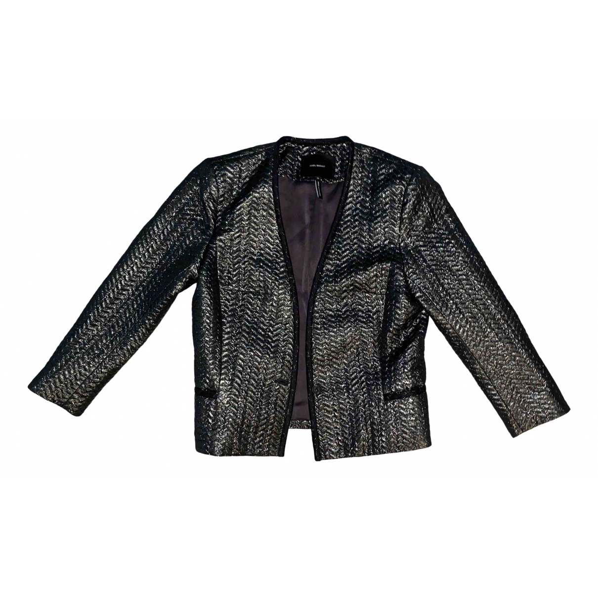 Isabel Marant \N Jacke in  Metallic Polyester