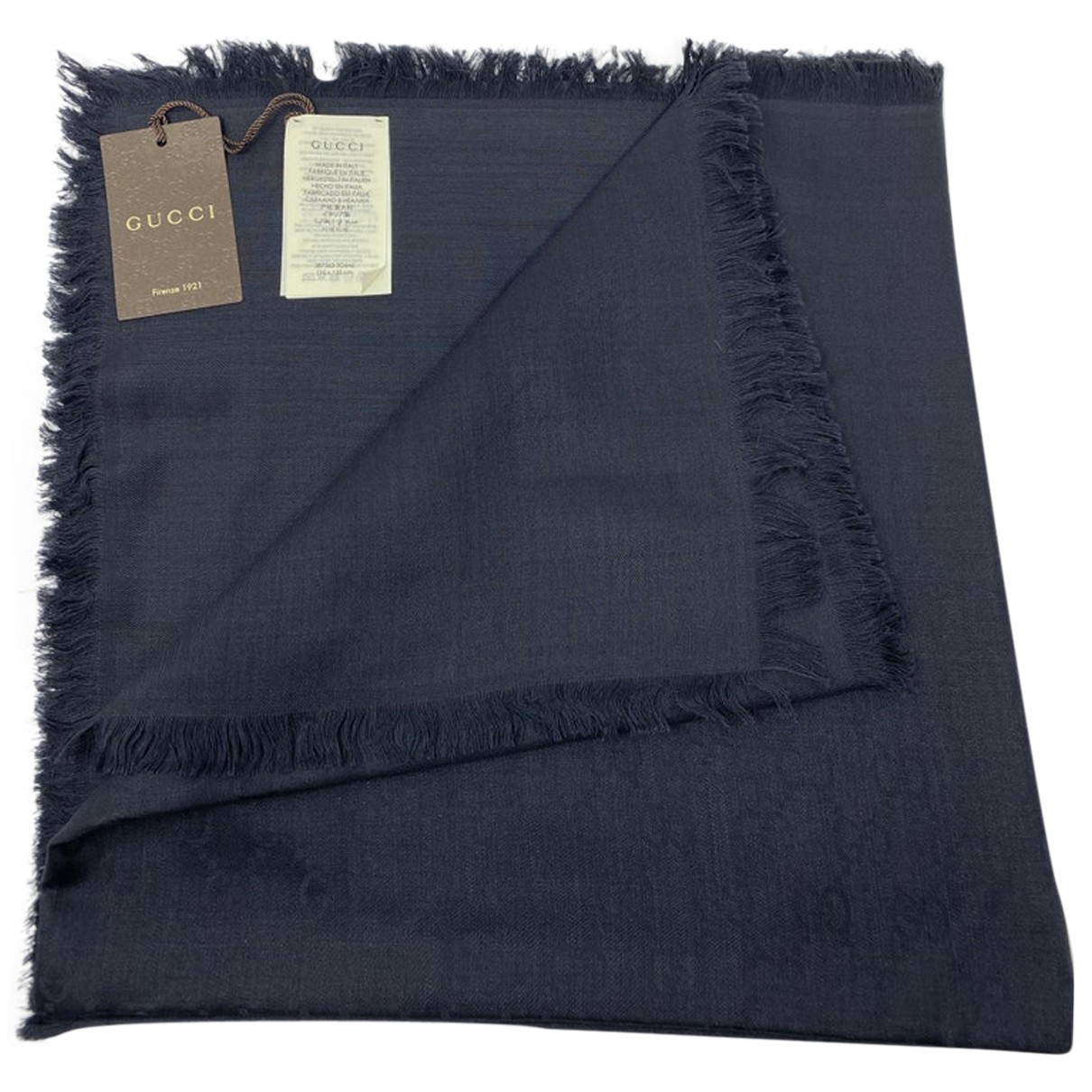 Gucci N Black Wool scarf for Women N