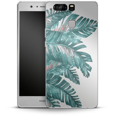 Huawei P9 Silikon Handyhuelle - Tropical Blue von Mark Ashkenazi