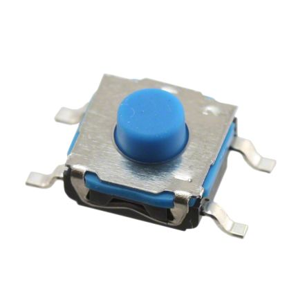 C & K IP67 Tactile Switch, Single Pole Single Throw (SPST) 50 mA 1.4mm Surface Mount (10)