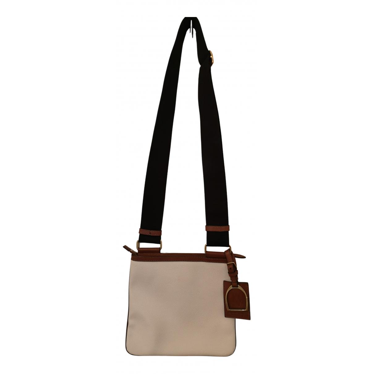 Ralph Lauren N White Leather handbag for Women N