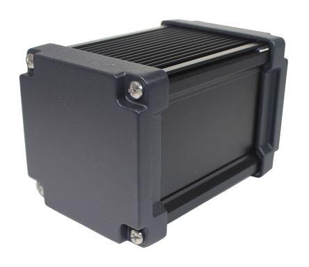 Takachi Electric Industrial AWN Black Aluminium Heat Sink Case, 125 x 86.3 x 86.3mm