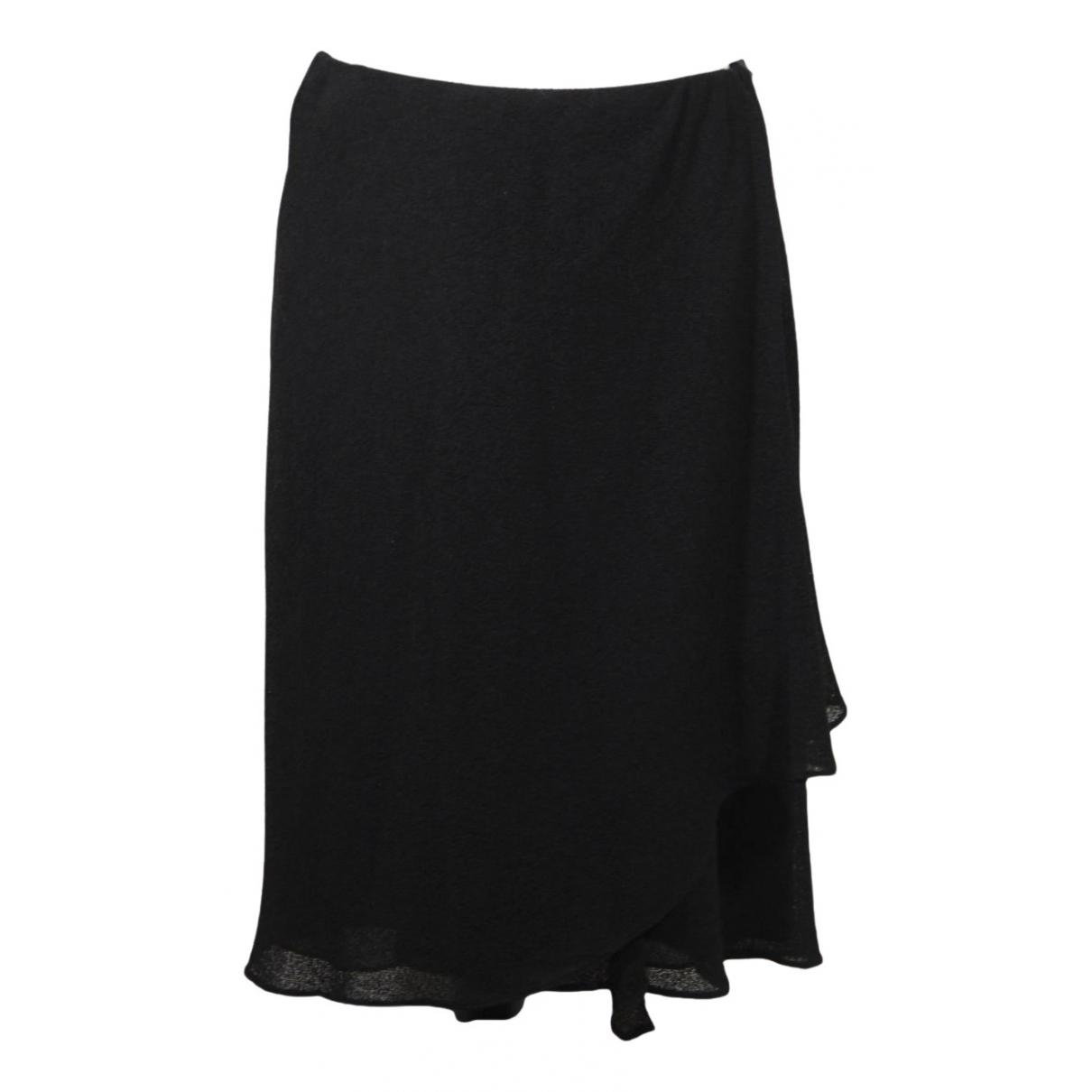 Giorgio Armani N Black Wool skirt for Women S International