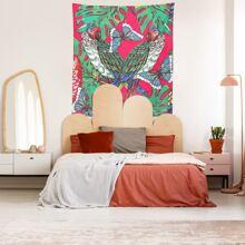Parrot Print Tapestry