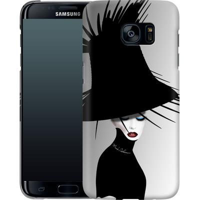 Samsung Galaxy S7 Edge Smartphone Huelle - Black Hat von Mark Ashkenazi