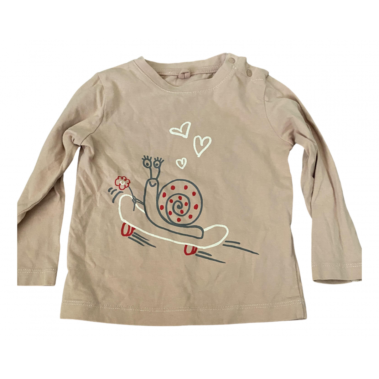 Stella Mccartney Kids - Top   pour enfant en coton - rose