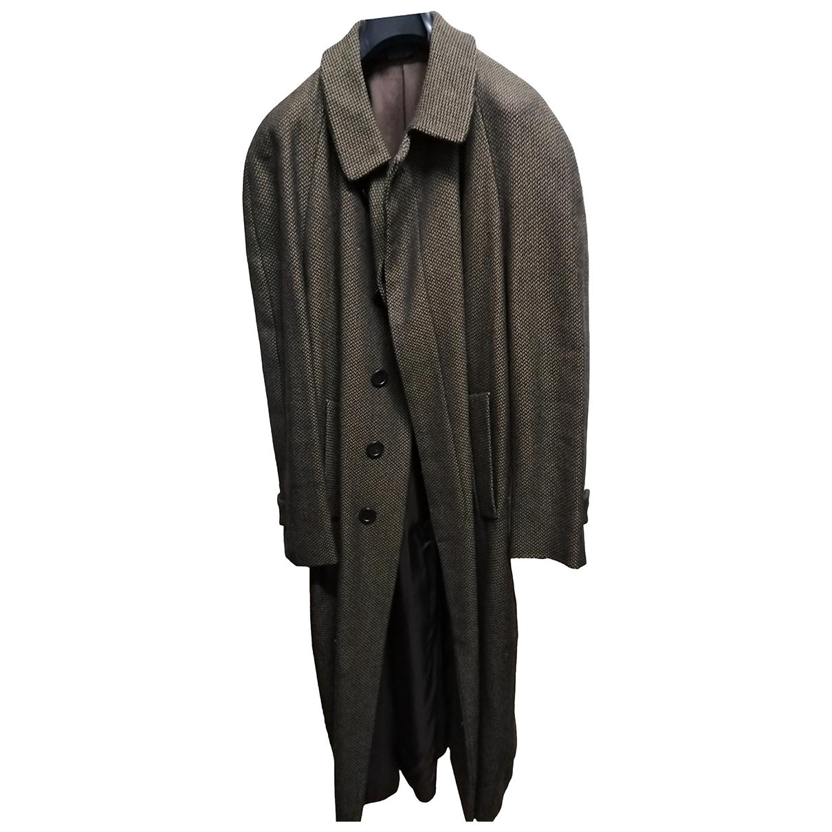 Fendi \N Camel Wool coat  for Men 54 IT