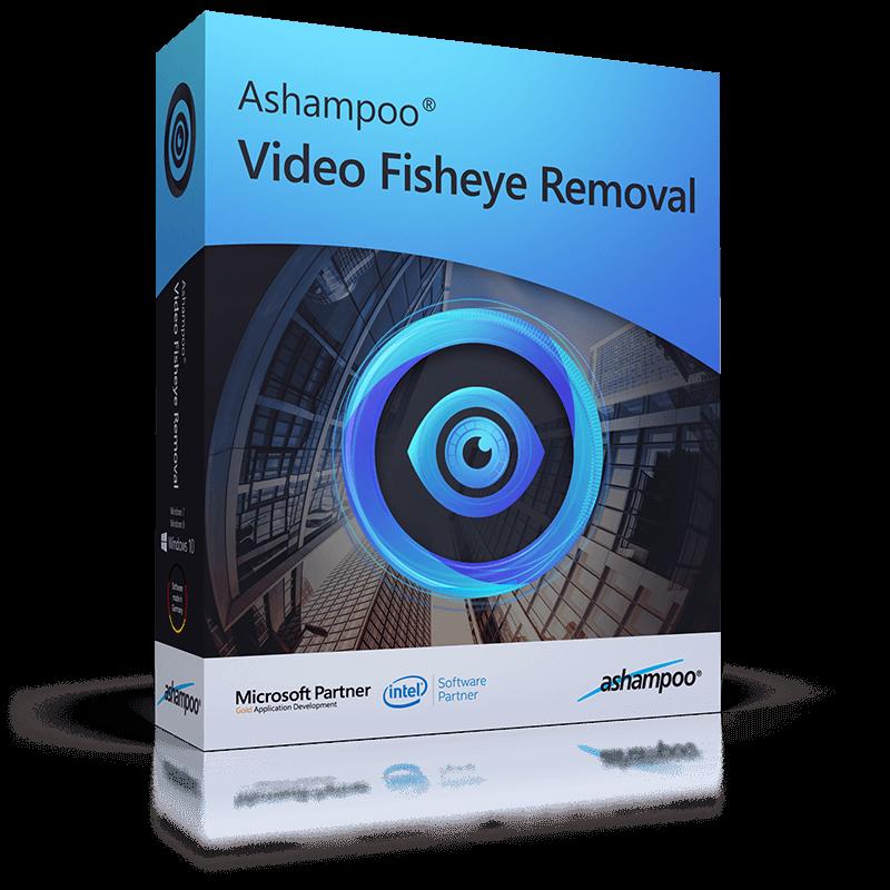 Ashampoo® Video Fisheye Removal