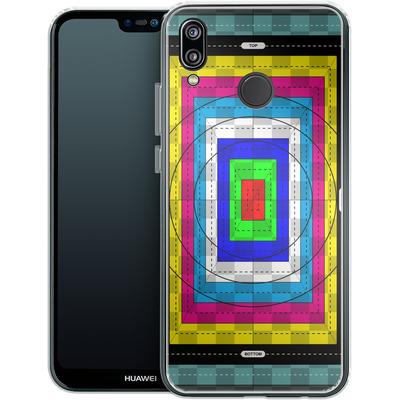Huawei P20 Lite Silikon Handyhuelle - Test Case von caseable Designs