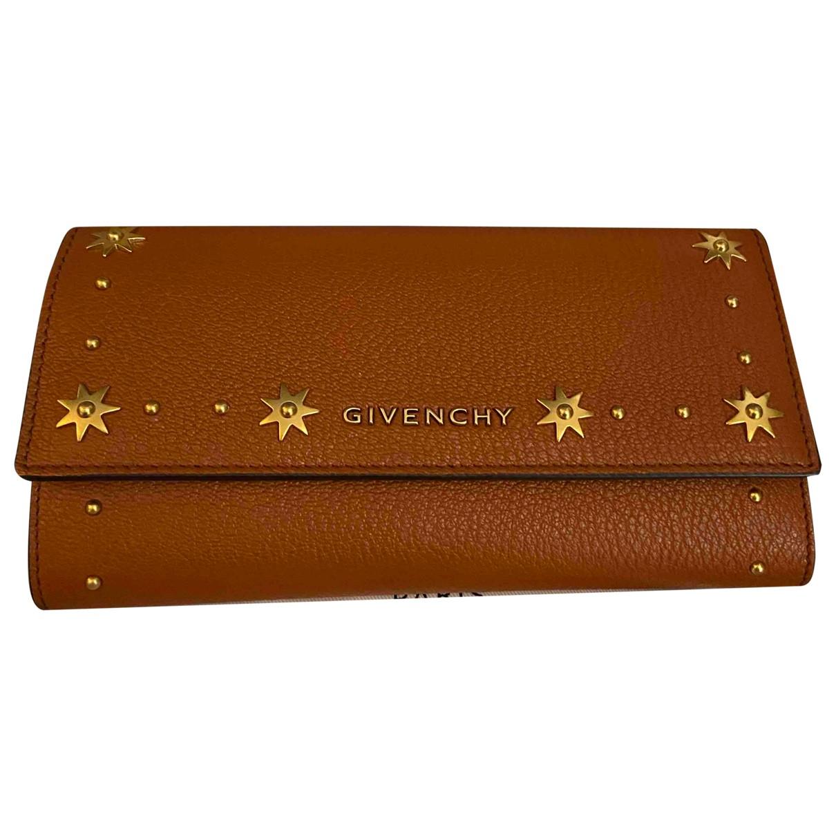 Givenchy \N Portemonnaie in  Kamel Leder