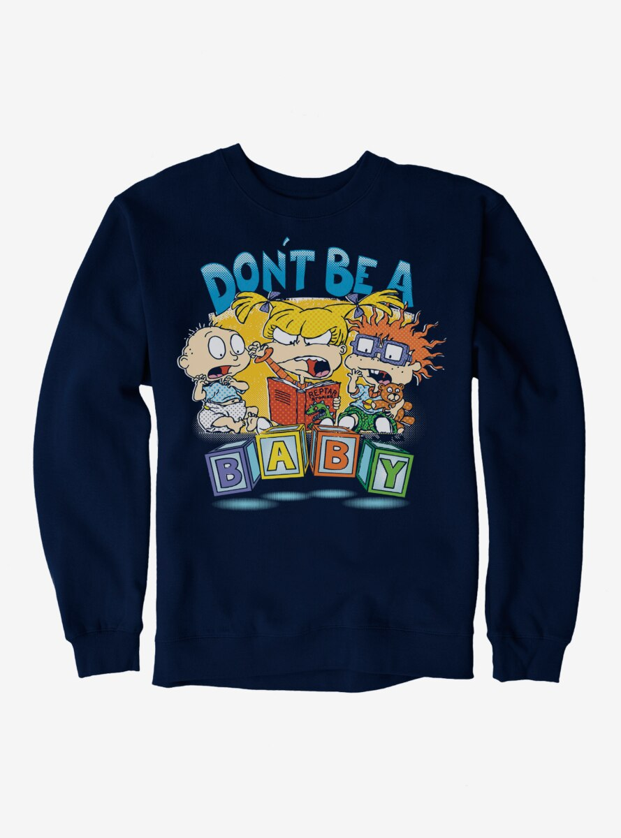 Rugrats Angry Angelica With Tommy And Chuckie Sweatshirt