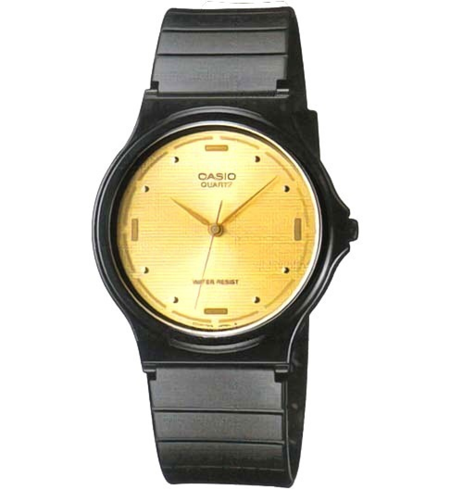 Casio Men's Core MQ76-9A Gold Resin Quartz Fashion Watch