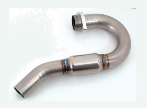 FMF Powerbomb Header (Stainless Steel)