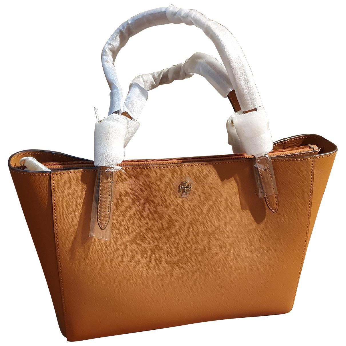 Tory Burch \N Handtasche in  Braun Leder
