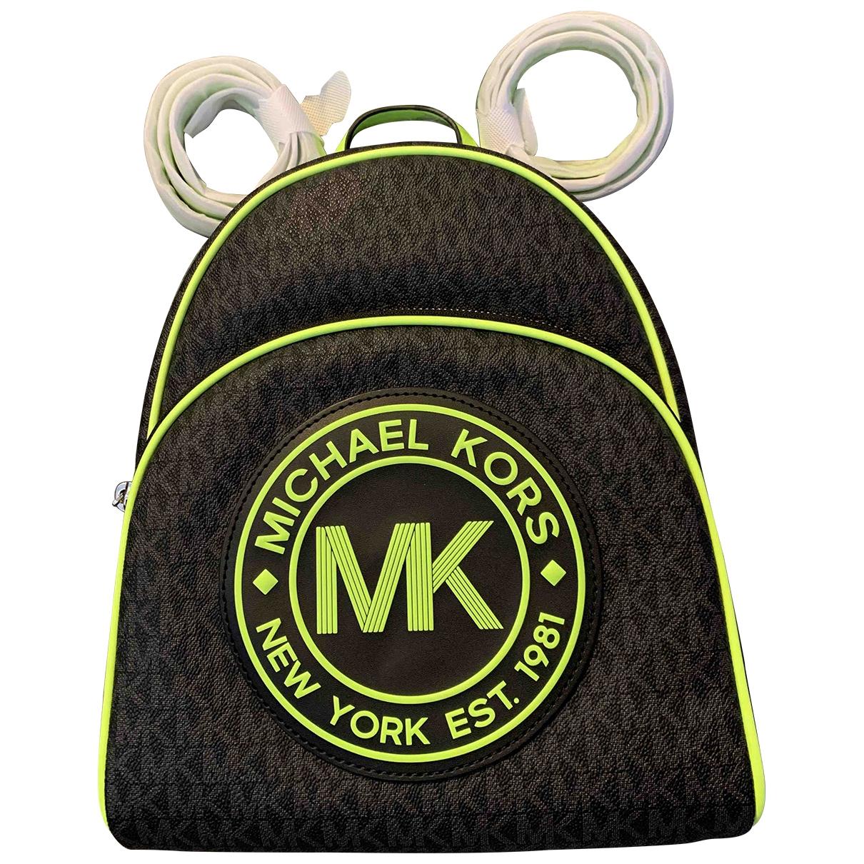 Michael Kors \N Black Leather backpack for Women \N