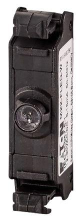 Eaton Flat Rear LED block, white, 24VDC