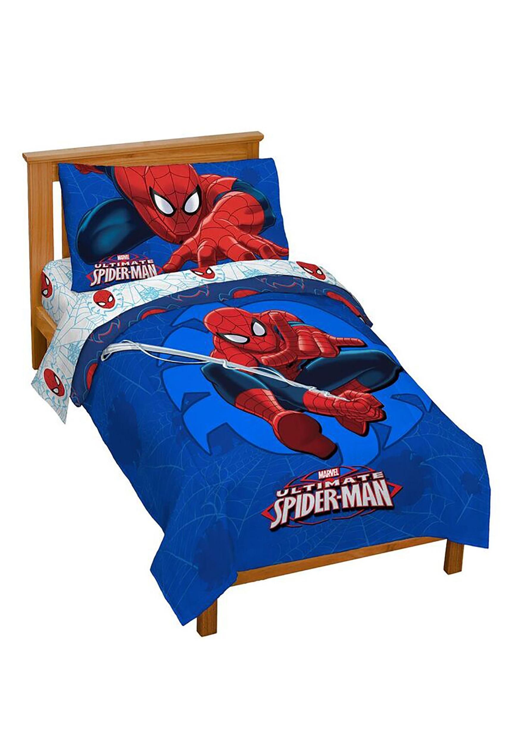 Marvel Spider-Man Regulator Toddler Bed Set