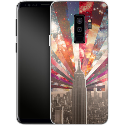 Samsung Galaxy S9 Plus Silikon Handyhuelle - Superstar New York von Bianca Green