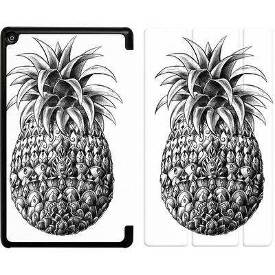 Amazon Fire HD 8 (2018) Tablet Smart Case - Ornate Pineapple von BIOWORKZ
