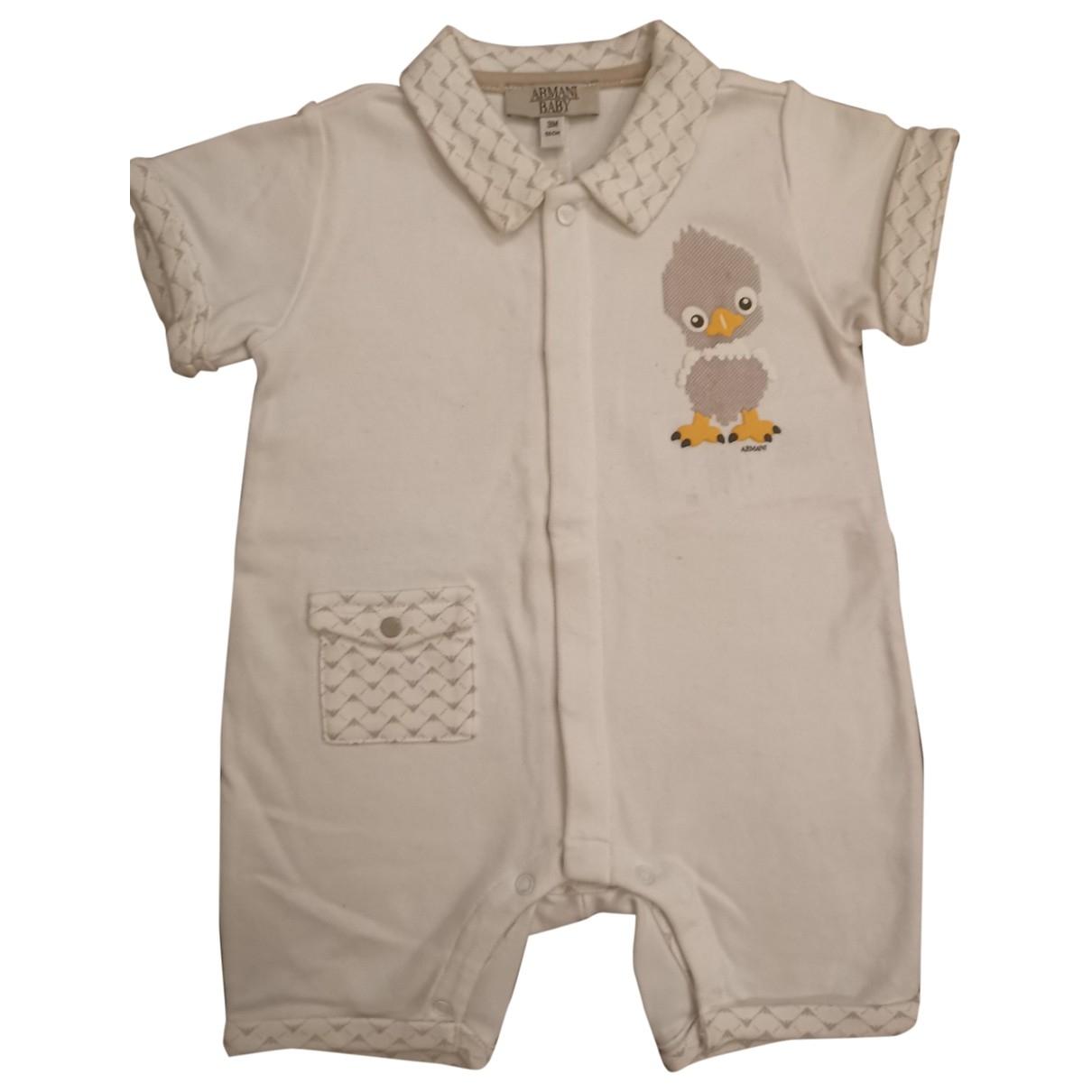 Armani Baby \N Sets in  Weiss Baumwolle